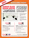 Click here to download a pdf of the Sliding Glass Door Lock sheet