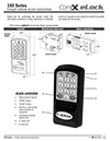 Click here to download a pdf of the CompX eLock 150 Series Cabinet Instructions