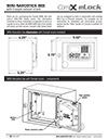 Click here to download a pdf of the CompX eLock MINI Narcotics Box Instructions sheet