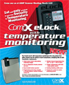 Click here to download a pdf of the CompX eLock� Temperature Monitoring Ad