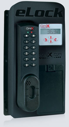 CompX eLock unit with temperature monitoring for hot or cold temperatures