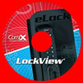 LockView version 2.1 disc. Click disc to download the free upgrade to version 2.1.