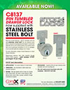 Click here to download a pdf of the CompX National C8137 Stainless Steel Bolt sheet