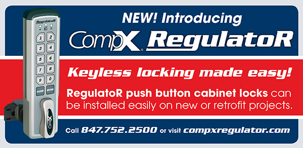 RegulatoR by CompX Security Products - keyless, electronic push