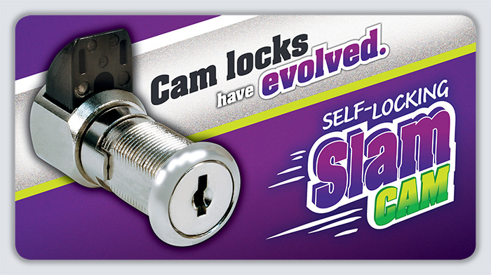 Self-locking SlamCAM by CompX Security Products