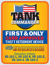 Tank Commander - First and only CARB approved theft deterrent device