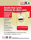Click here to download a pdf of the CompX Timberline Double Door Latch sheet