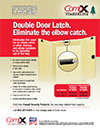 Click here to download a pdf of the CompX Timberline STOCK LOCKS Double Door Latch sheet