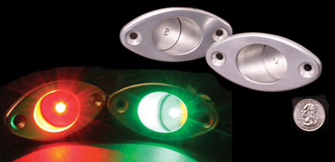 Livorsi Marine Inc Elliptical Nav Lights