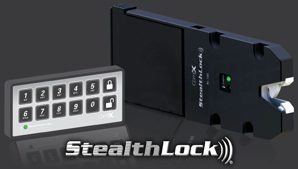 StealthLock Transmitter Pad And Receiver Latch